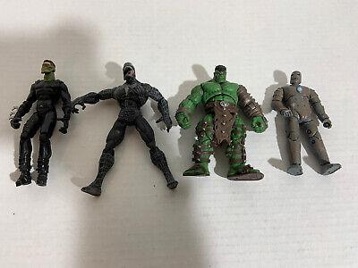 """2007 Marvel Spiderman 3 Movie Series Venom Figure 5"""" Action Figure  Lot Of 4"""