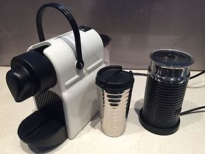Breville Nespresso Coffee Machine w/Milk Frother and thermos flask cup Kings Cross Inner Sydney Preview
