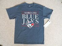 Medium Blue Jays Dk Navy Official Mlb Baseball T Shirt Strong Toronto Canada - official mlb merchandise - ebay.co.uk