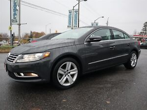 2016 Volkswagen CC 2.0T Sport TSI NAVIGATION LEATHER ONLY 16 K.