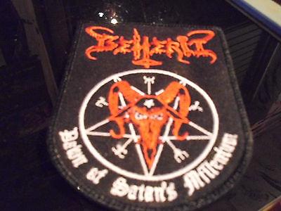 Beherit Patch Archgoat Deströyer 666 Profanatica Blasphemy Sarcofago Von Samael