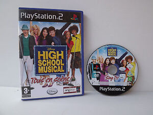 High-school-musical-Todo-en-escenario-Juego-PS2-Playstation-2-Disney