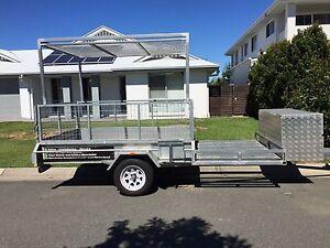 Custom 8x5 motorbike/quad bike /mower trailer Caloundra Caloundra Area Preview