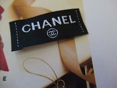 CHANEL for Clothing Designer Tag LABEL Replacement Sewing Accessories 1 (Designer For Chanel)