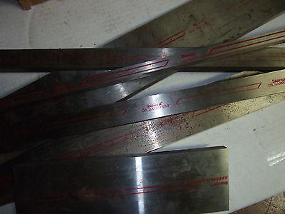 O1 O-1 -starrett- Tool Steel Ground Stock 1 X 2 X 9 Std. Made In Usa