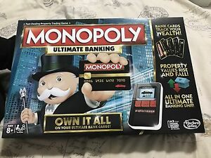 Brand new Monopoly Ultimate Banking Noble Park Greater Dandenong Preview