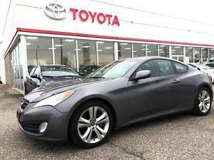 2011 Hyundai Genesis Coupe Only 66132 Km's, Leather, Sunroof, Al