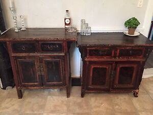 Antique Chinese sideboards