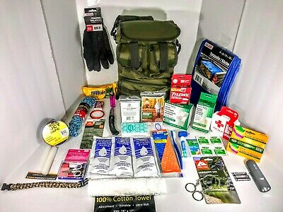 Disaster Emergency Survival Kit Bug Out Bag Camping earthqua