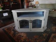 Solid Wood Corner TV Cabinet Nelson Bay Port Stephens Area Preview