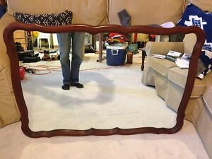 Antique French provincial mirror.