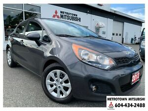 2013 Kia Rio LX+ w/ECO; Local BC vehicle!