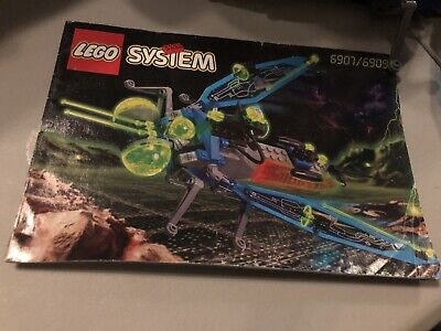 Lego 6907 Sonic Stinger - 100% Complete w/o Box, Instructions Inc. Lights Work!!