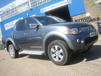 Mitsubishi L 200 by Chris Reynolds Ltd t/a Reynolds of Rayleigh, wickford, Essex