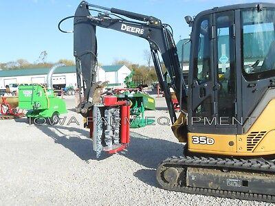Excavator Flail Mowershredderbrush Mulcherventura 32 Tfm80 12-25gpm To 4