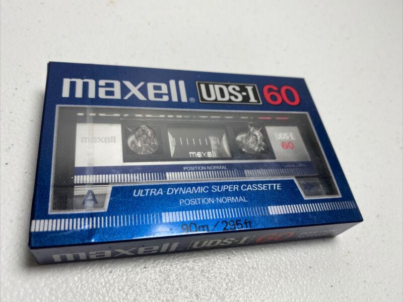 Maxell UDS-I 60 Ultra Dynamic Super Cassette-Japan Rare