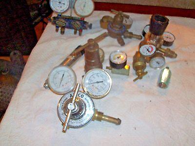 Airco 806 9621 Nitrogen And Helium Gas Regulatorplus Asst Parts