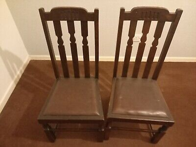 2 Vintage Chairs And Coffee Table - Chairs And Table Are In Very Good Condition