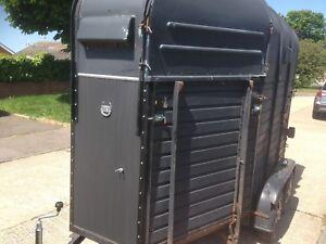Rice horse box trailer Twin Axle