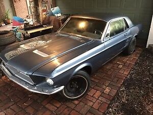 1967 Mustang Coupe 289 V8 Manual Greensborough Banyule Area Preview