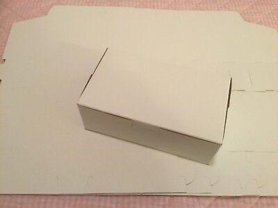 "SET OF 10! DESSERT / GIFT BOXES 6 1/2"" X 3 3/4"" X 2 1/4"""
