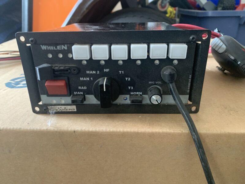 Whelen 295SLSA6 12V Perm Mic 01-0287669-00b Used Radio Control