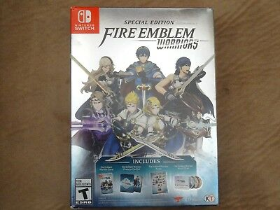 Brand New Fire Emblem Warriors Special Edition   Nintendo Switch