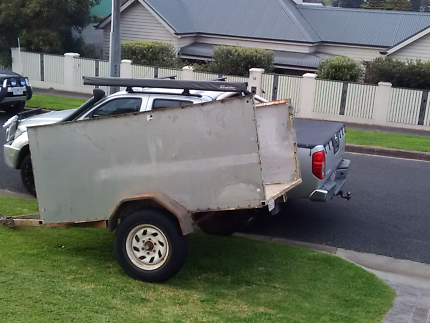 2.4x 1.8mtrs trailer