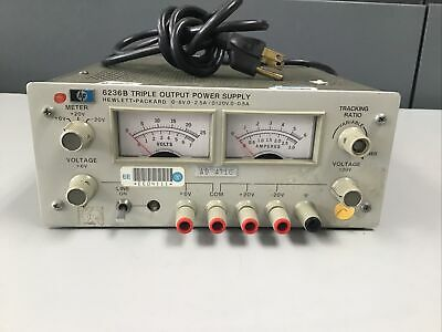 Hp - Agilent 6236b Triple Outputtracking Dc Power Supply