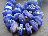 Azul Spirit Cuarzo Disco Cuentas, Aprox. 15mm Diámetro, 24 Cuentas -  - ebay.es