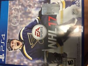 PS4 Uncharted Drake & NHL17