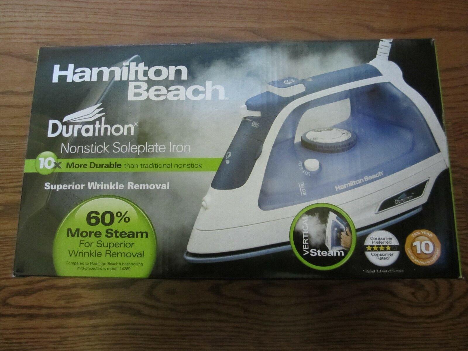 Hamilton Beach Durathon Full Size Iron, 1 Each