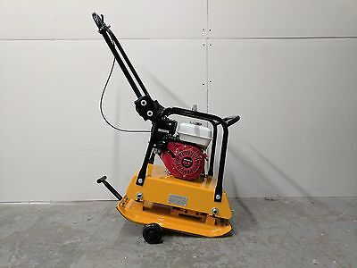 Honda Gx160 Plate Compactor Tamper 18 Inch Wheel Kit 3 Year Warranty