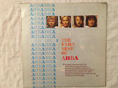 The Very Best of ABBA Asia Record Co. Tower 1990 black vinyl LP Seoul Korea
