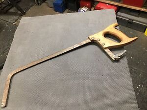 Vintage Hand (meat) Saw