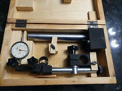 Dial Indicatorcomparator Measuring Stand Magnetic Ussr Mikrokator Messstativ