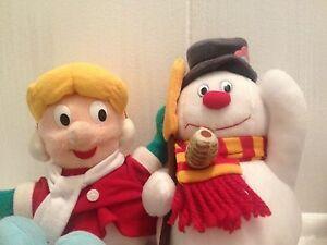 CVS-Plush-Frosty-the-Snowman-Set-of-4-Plush-Characters-Christmas