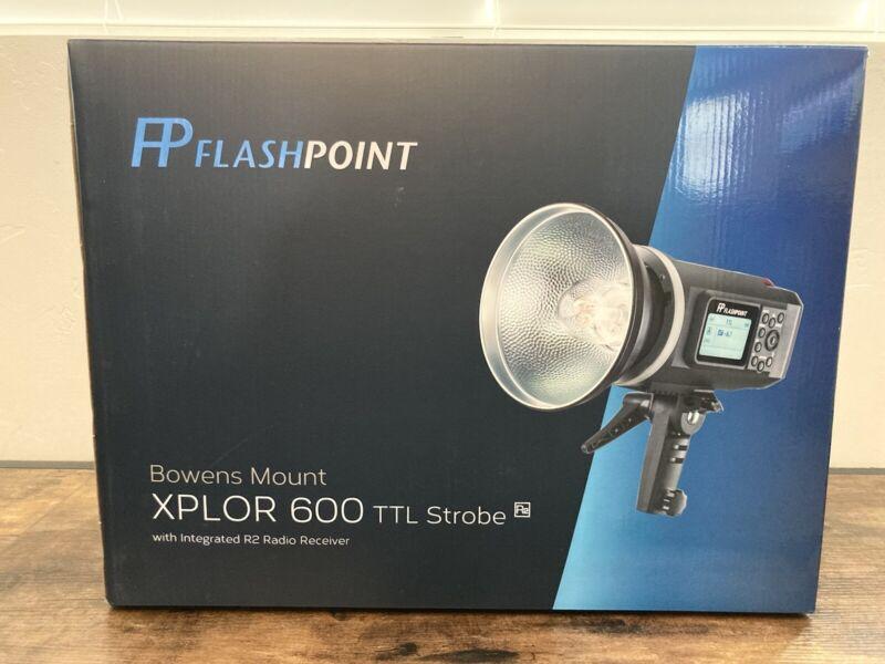 Flashpoint XPLOR 600 TTL Battery-Powered Monolight - Bowen Mount