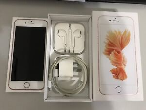 As new iPhone 6S 64GB Rose Gold Unlocked