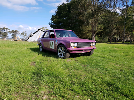 Datsun 1600 track/rally car