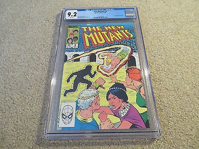 New Mutants  9 1St App Selene Cgc 9 2 1983 Marvel White Pages See My Store