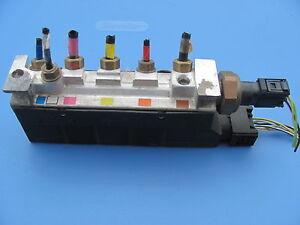 Jaguar xj8 xjr vanden plas air suspension pump valve 2w983b486aa 04 05