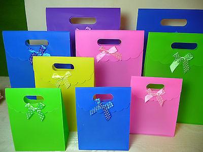 Geschenktasche 3er Set ● Polka Dot ● 21x15cm GESCHENKTÜTE Gift Bag Sac Cadeaux