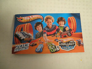 HOTWHEELS-2013-COLLECTOR-BOOKLET-JUST-REALEASED-BRAND-NEW