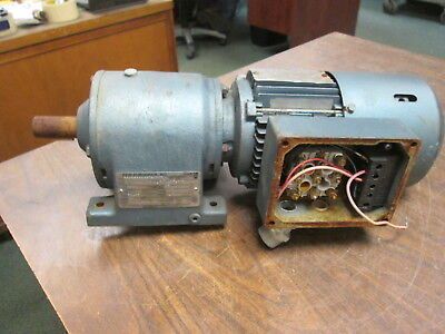 Sew-eurodrive Gearmotor Dft71c4bng05hr .33hp 43rpm Out Encltefc 230yy460v Used