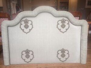 Beautiful Belgium linen bed head Mosman Mosman Area Preview