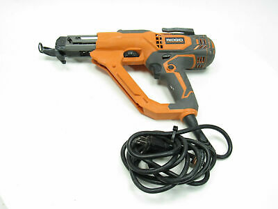 Ridgid R6791 3-inch Corded Drywall And Deck Collated Screwdriver