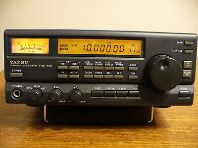 Yaesu FRG-100 Communications Receiver, Excellent Example w/ Yaesu Power Supply