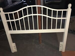 Twin Size box spring, frame and head board
