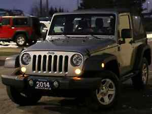2014 Jeep Wrangler SPORT | A/C | AUTOMATIC | SOFT TOP |